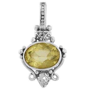 Yellow quartz pendants