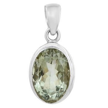 Green amethyst pendants