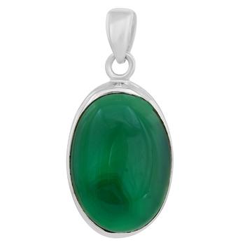 Green quartz pendants