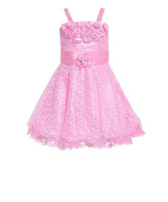 pink net frock