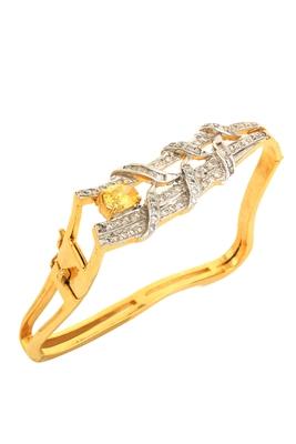 Yellow american diamonds bracelets