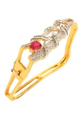 Pink american diamonds bracelets