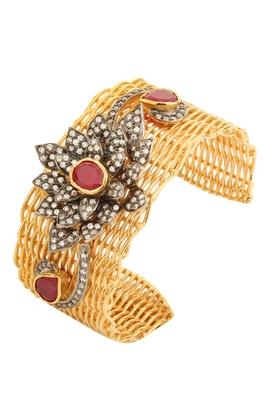 Red american diamonds bracelets