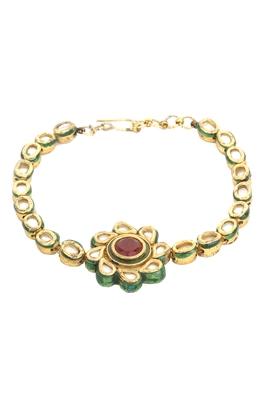Multicolor kundan bracelets