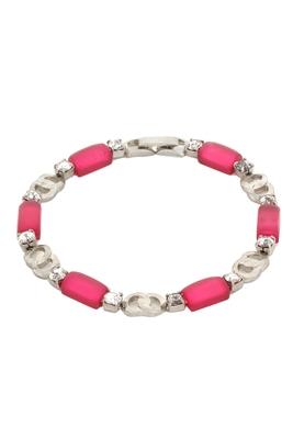 Pink zircon bracelets