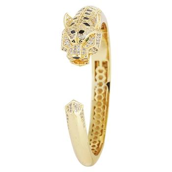 Gold cubic zirconia bracelets
