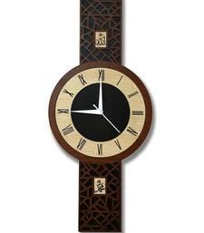 Islamic Home D  Cor Wall Clock Allah Mohammad 18 * 8 Inchs (Allah Mohammad)