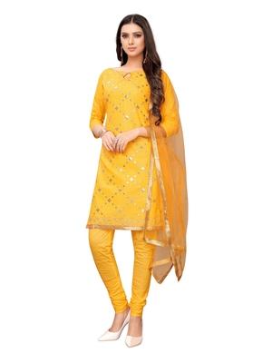 Yellow gotta patti cotton salwar