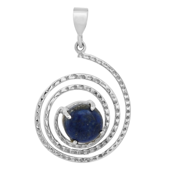 Blue lapis lazuli pendants
