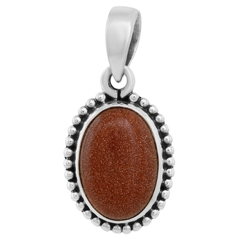 Brown crystal pendants