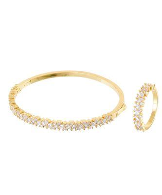 golden beautiful diamond bracelet ring combo special gift for valentine