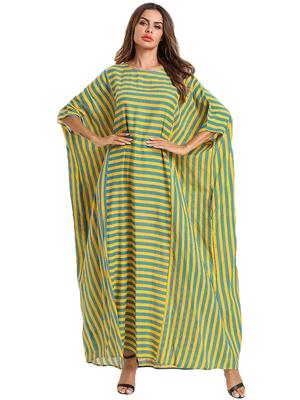 Women's Multi Color Party Wear Rayon Cotton Kaftan For Women