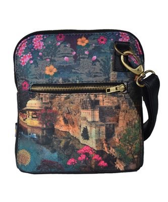 Beautiful Historical Structure Crossbody Bag For Women And Girls