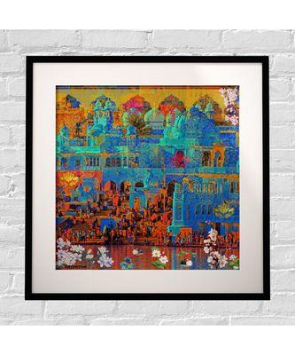 Indian Heritage Framed Art Print