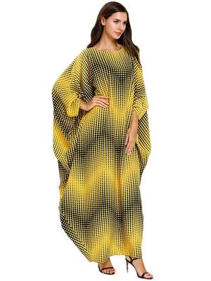Women's Party Wear Rayon Soft Cotton BatWing Style Kaftan