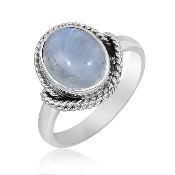 Multicolor Moonstone 925 Sterling Silver Rings