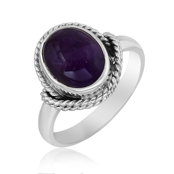 Purple amethyst  925-sterling-silver-rings