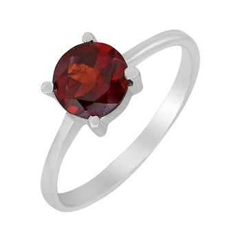 Red garnet 925-sterling-silver-rings