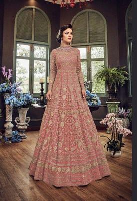 Rose embroidered santoon salwar