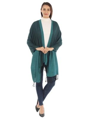 Super Fine Soft Women's Viscose Reversible Pashmina Scarf, Stole & Wrap with Hanger