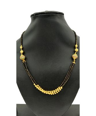 American Diamond Multi Chain Mangalsutra