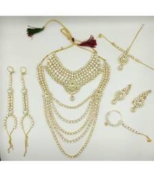 Ethnic Traditional Kundan  Bridal Jewellery Set