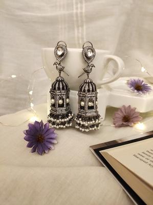 Victorian Silver Danglers