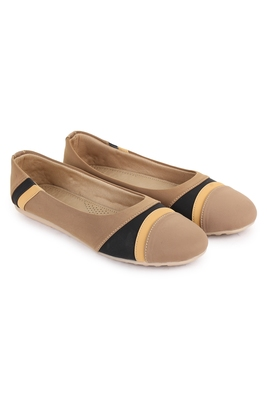 Beautiful Beige color synthetic material bellies for women's