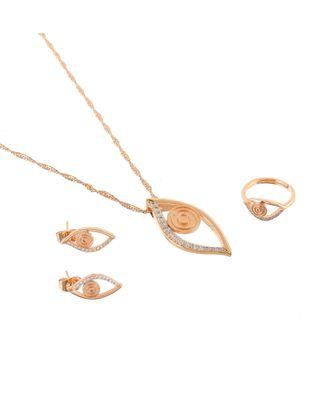 Rose Gold Delicate Cute Valentine Gift Pendant Combo