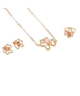 yellow flower design cute elegant valentine gift pendant combo