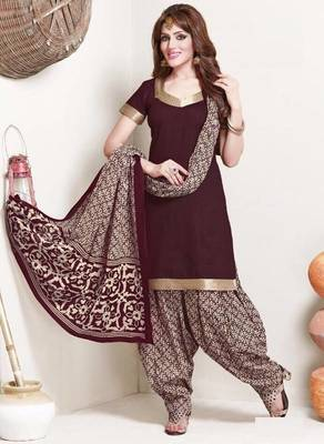 22e0eb575b Elegant Cotton Designer Patiyala Unstitched Dress Material Salwar Suit D.No  B117 - Dharmesh Enterprise - 431744