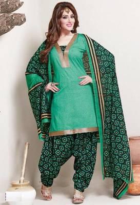 a20d65765d Elegant Cotton Designer Patiyala Unstitched Dress Material Salwar Suit D.No  B119 - Dharmesh Enterprise - 431745