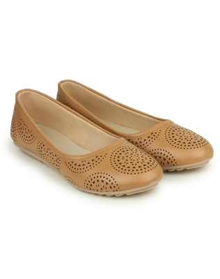 Beautiful Beige color synthetic material Bellies for womens