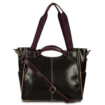 Faux Leather Designer Handbag For Women's