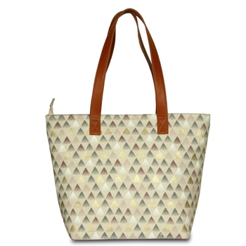 Women Canvas Printed Hand bag