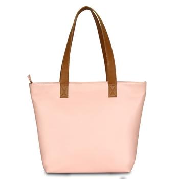 Women Canvas Pink Hand bag