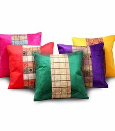 Buy Jacquard Designer Assorted 5 Pc Cushion Covers Set other-home-furnishing online