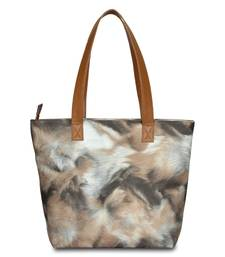Women Leather Printed Hand bag
