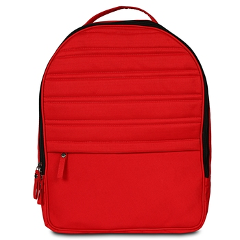 "Causal Red Backpack with 13.5"" Laptop Pocket"