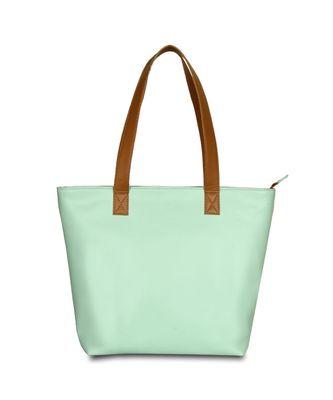 Women Canvas Green Hand bag