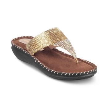 SOLE HEAD Wedges Gold Women Sandal