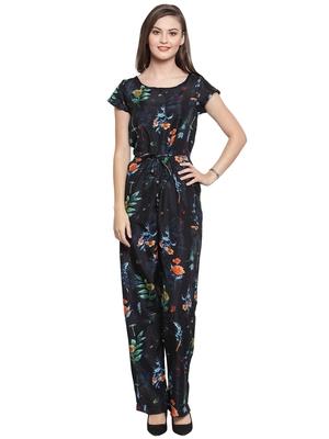 multicolor printed Crepe Jumpsuit