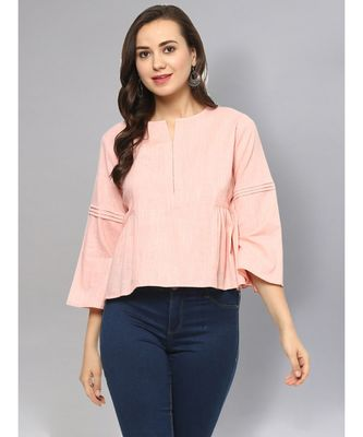 Baby Pink Solid Top