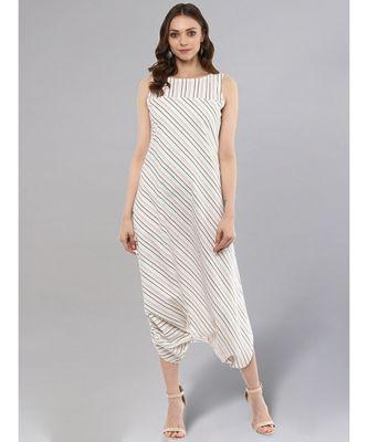 Striped Dhoti Jumpsuit