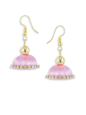 Girls Rose Doomed Jhumka Earrings