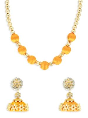 Girls Gold Ethnic Necklace Set