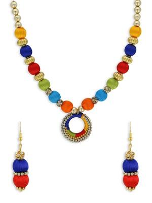 Girls Multi Ethnic Necklace Set