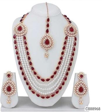 Red diamond jewellery-combo