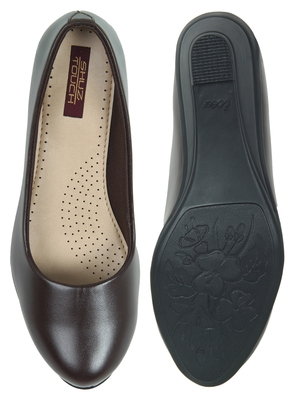 brown synthetic bellies-shoes