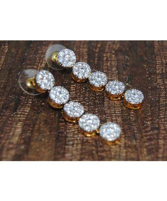 Sparkling Diamond Dangler Earrings